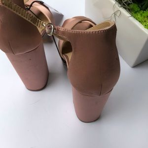 Who What Wear Shoes - Rose Gold High Heels Who What Wear Platform Heel
